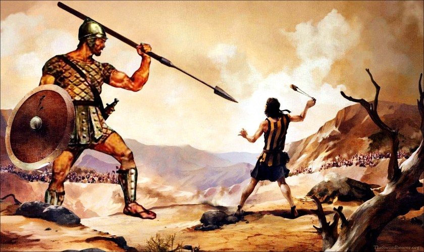 David and Goliath: Facing Off With The Ultimate Inner Saboteur